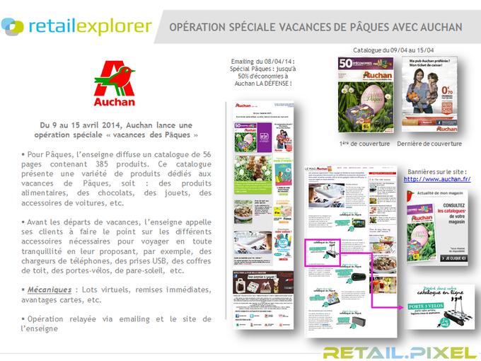 Auchan Lsa De Semaine La Digitale Campagne Avec 9HDE2I