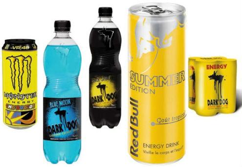 les energy drinks rentrent dans le rang