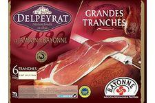 6 Tranches de jambon de Bayonne de Delpeyrat