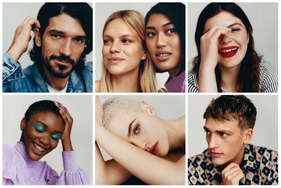 38756c546c84f3 Le casting réalisé pour Zalando Beauty veut représenter la diversité de la  beauté.