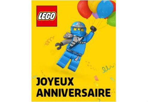Lego store souffle sa premi re bougie loisirs culture - Carte ninjago ...