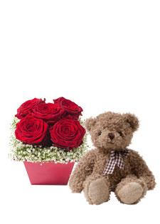 bouquet my valentine interflora de interflora. Black Bedroom Furniture Sets. Home Design Ideas