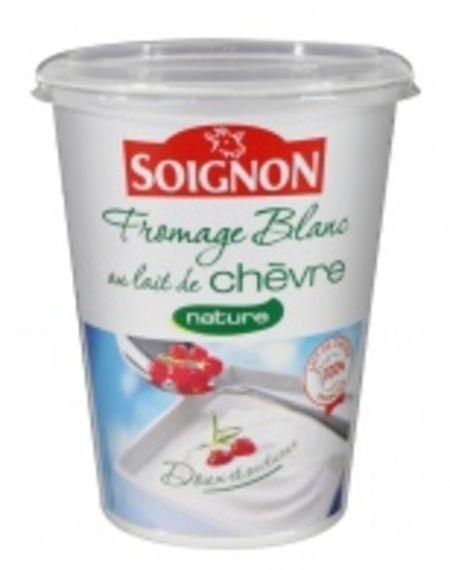 Fromage blanc au lait de ch vre nature de soignon - Yaourt maison lait de chevre ...