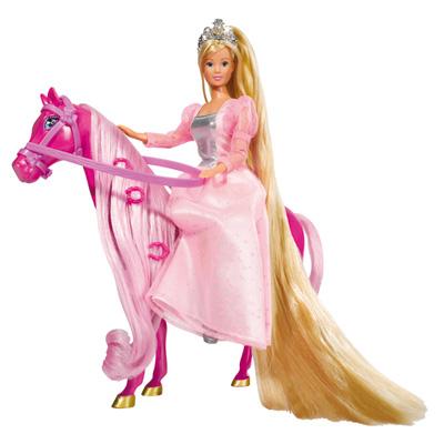 Lolly princesse et cheval de king jouet - Princesse cheval ...