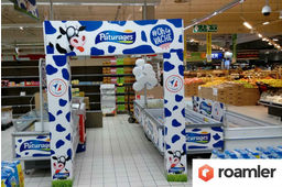 animations commerciales Roamler