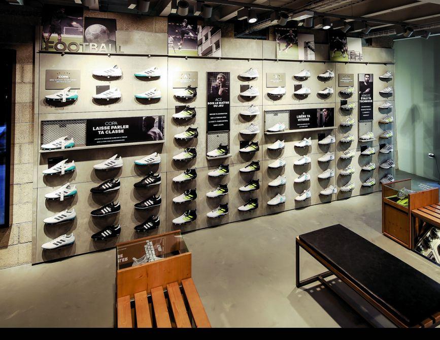 94b1a6a31a3 Adidas choisit Paris pour un magasin 100% foot