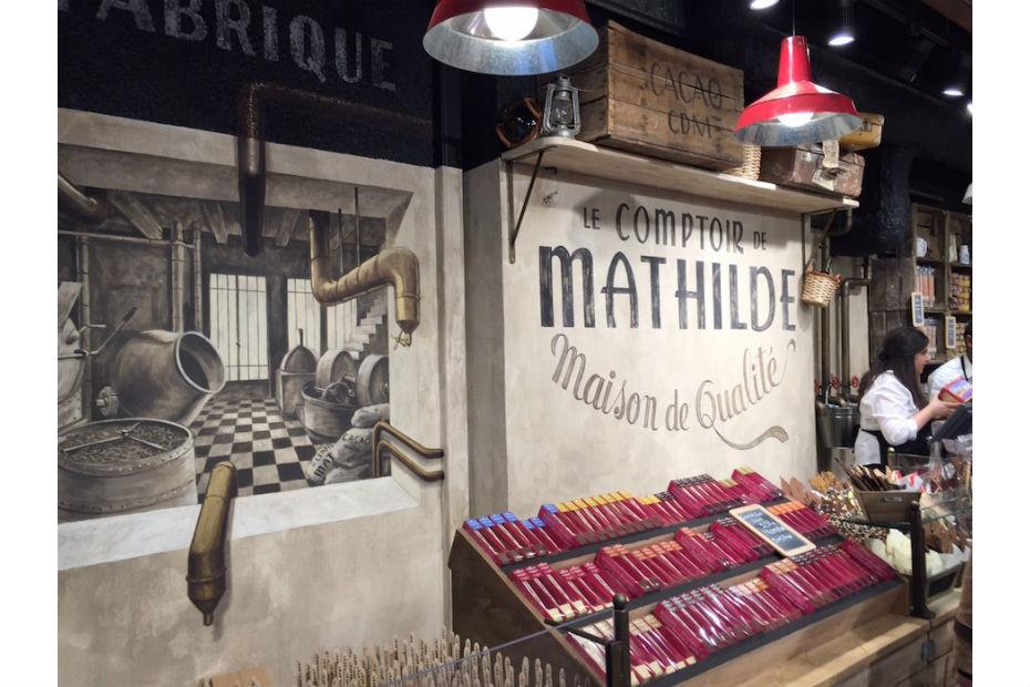 Le Comptoir De Mathilde Inaugure Sa Première