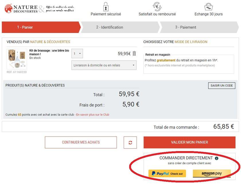Ec1to1 Amazon Pay Passe La Seconde En France