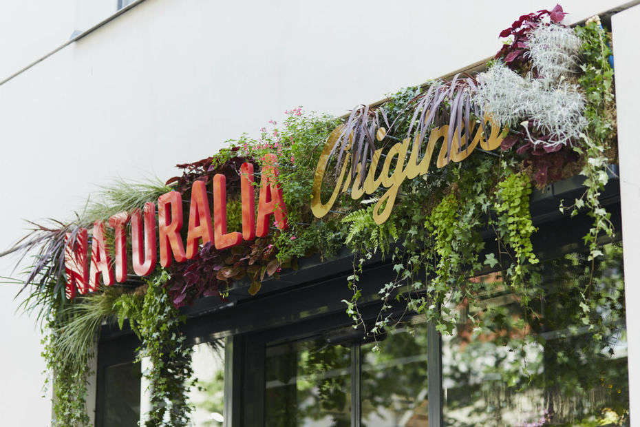Le magasin Naturalia Origines dans le 15ème arrondissement de Paris