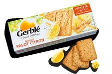 Gerblé Biscuit Pavot Citron Vitalité