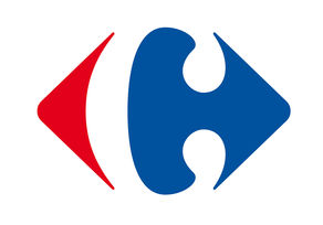 Logo corporate groupe Carrefour