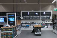 Hologrammes Carrefour