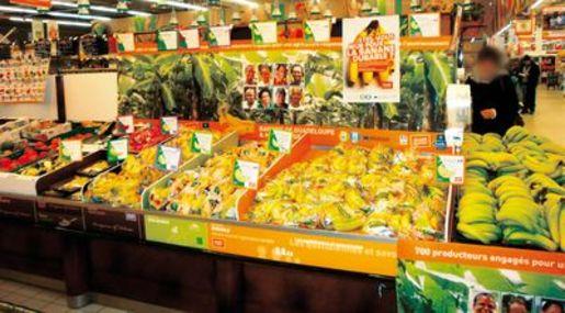 les bananes antillaises montent l 39 assaut fruits et l gumes. Black Bedroom Furniture Sets. Home Design Ideas