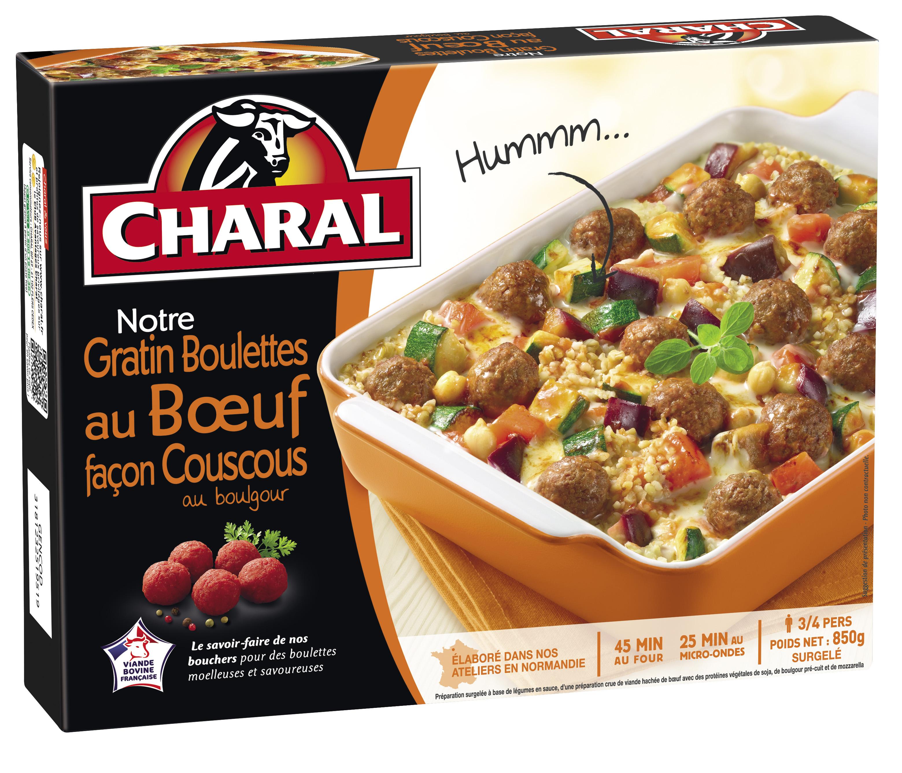 charal se lance sur les plats cuisin s surgel s frais ls et produits surgel s. Black Bedroom Furniture Sets. Home Design Ideas