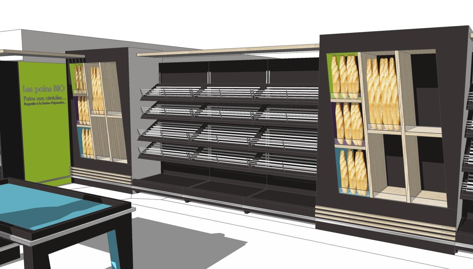 Sp cial equipmag 2012 d couvrez les boulangerie for Meubles nouveau concept