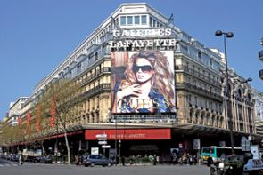 Le magasin galeries lafayette de for Se geolocaliser