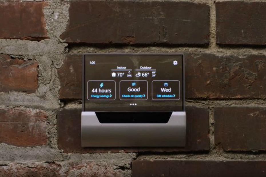 Le thermostat connecté sous Cortana de Microsoft — Glas