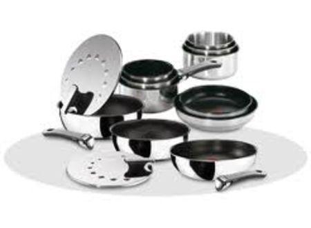 Tabourets de cuisine batterie de cuisine inox tefal or - Batterie de cuisine tefal ...