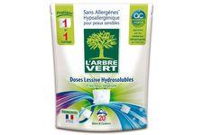 Doses lessive hydrosolubles L'Arbre Vert