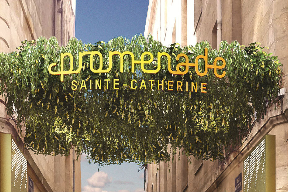 Inauguration du centre commercial promenade - Magasins rue sainte catherine ...