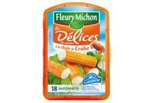 Délices de surimi à la chair de crabe Fleury Michon