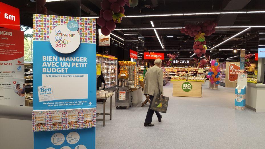 Les magasins auchan balisent un parcours de - Prix du fuel auchan ...