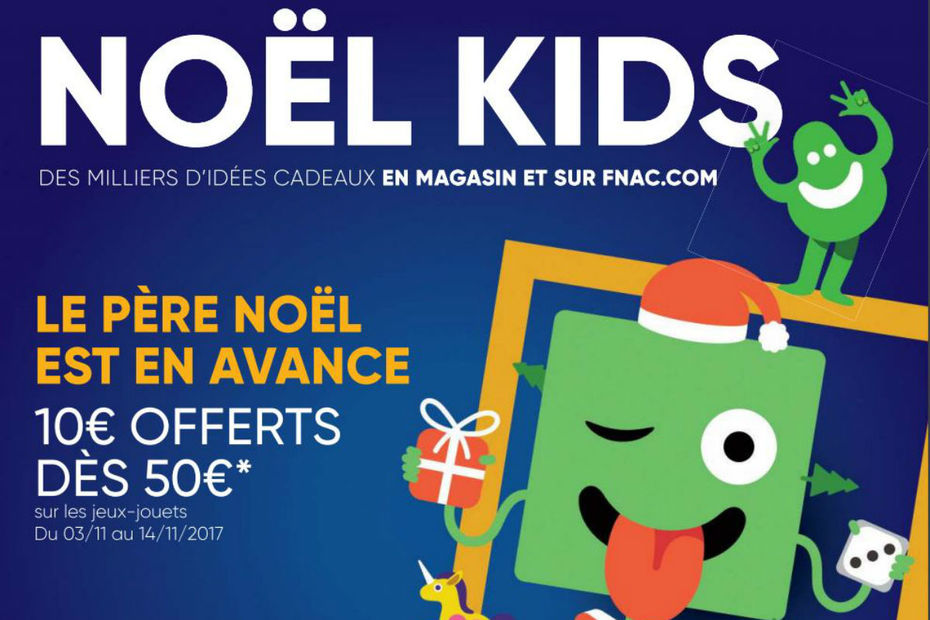 catalogue noel 2018 fnac La Fnac édite son guide spécial