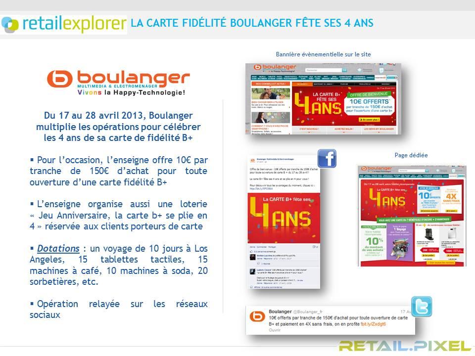 Boulanger Carte De Fidelite.Campagne Digitale Lsa De La Semaine Carte De