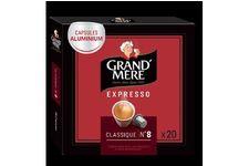 Capsules compatibles Nespresso Café Grand'Mère