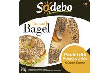 Sodebo lance le bagel en grandes surfaces
