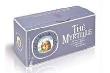 Le thé myrtille par Les 2 Marmottes