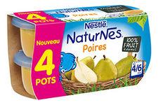 Naturnes Poires de Nestlé