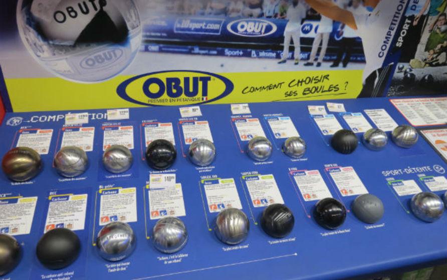 Intersport une nouvelle locomotive pour for Choisir ses boules de petanque