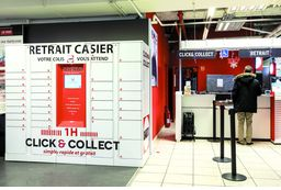 DARTY Boulogne: casier Click&Collect