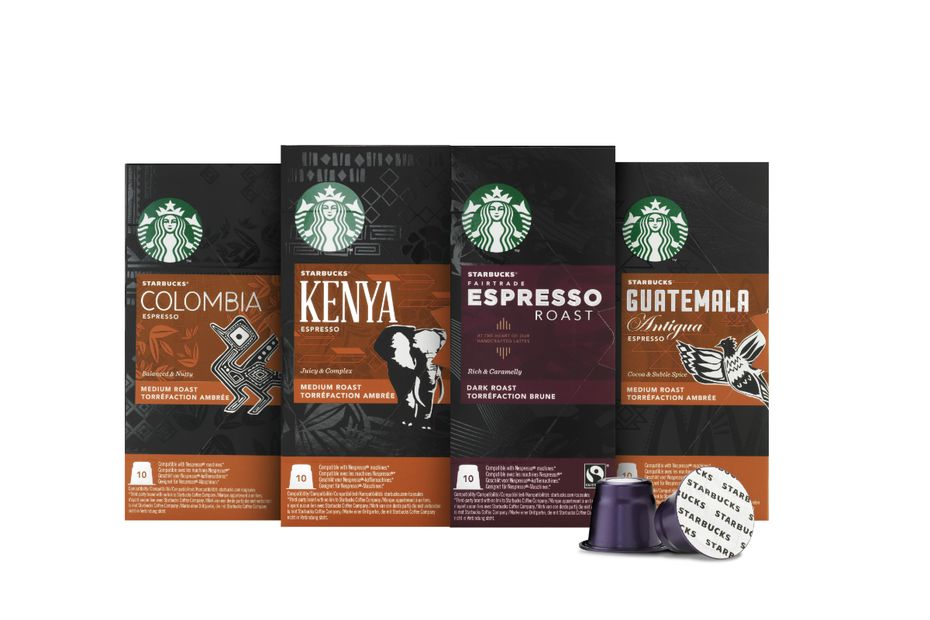 starbucks lance une offre de capsules. Black Bedroom Furniture Sets. Home Design Ideas
