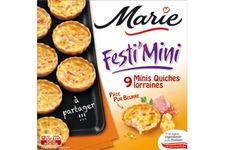 Minis Quiches Lorraines de Marie