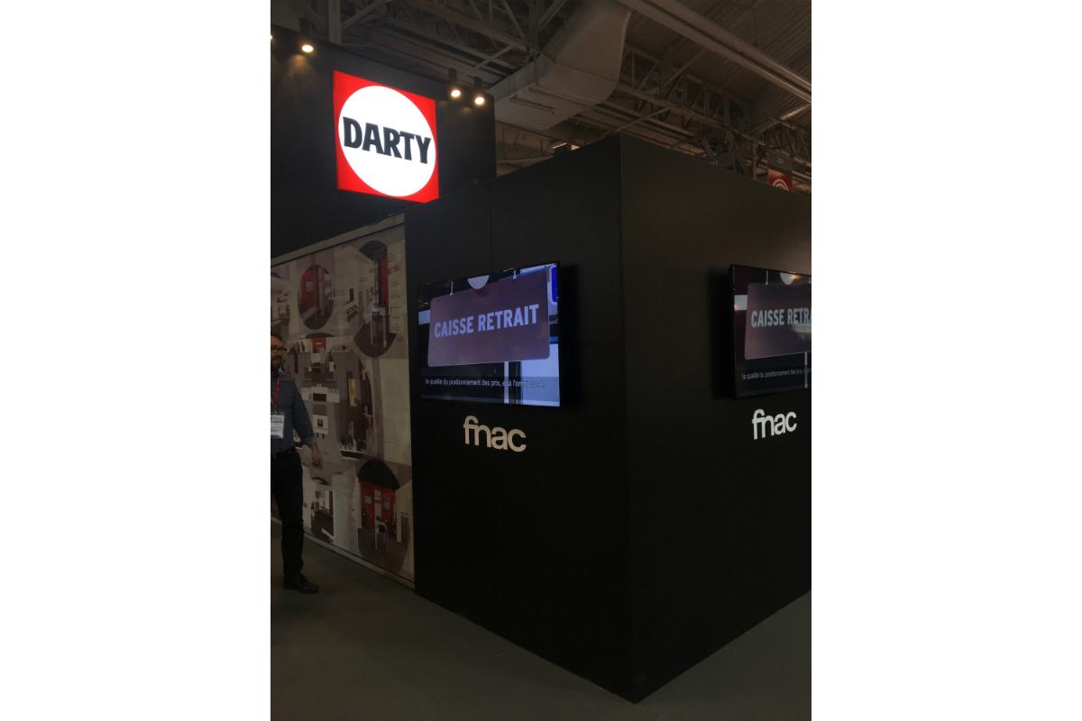 La fnac et darty pour la premi re fois for Salon franchise 2017