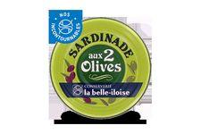 Sardinade aux 2 olives La Belle Iloise