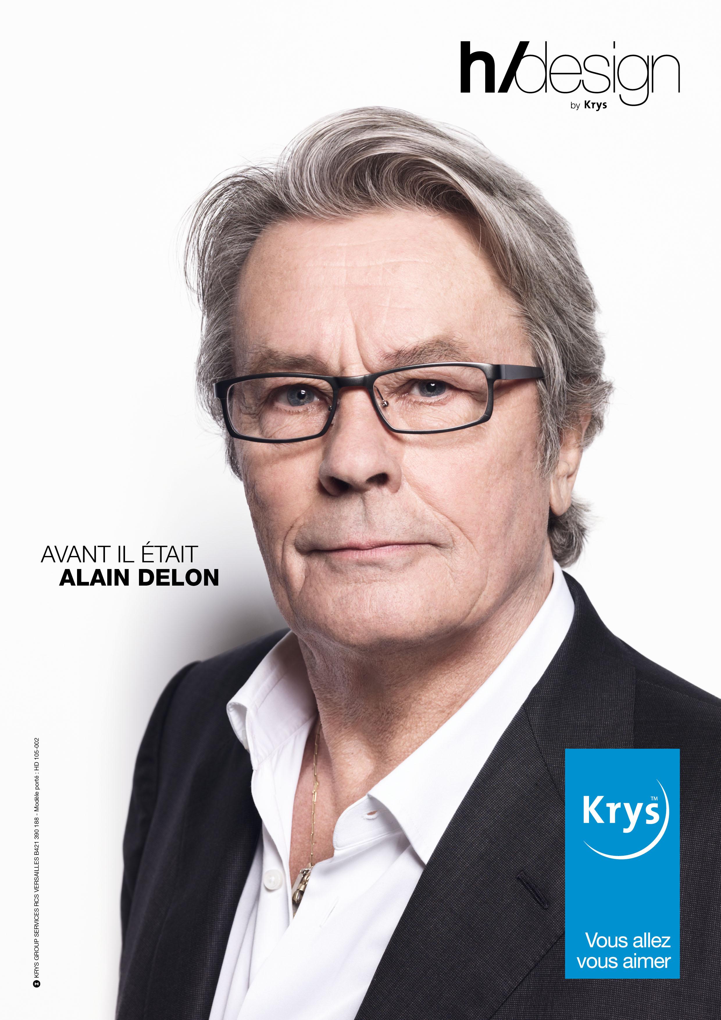 Krys met en scène Alain Delon et quatre... 91dbea7319f2