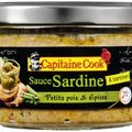 Sauces de la mer apéritives - Capitaine Cook