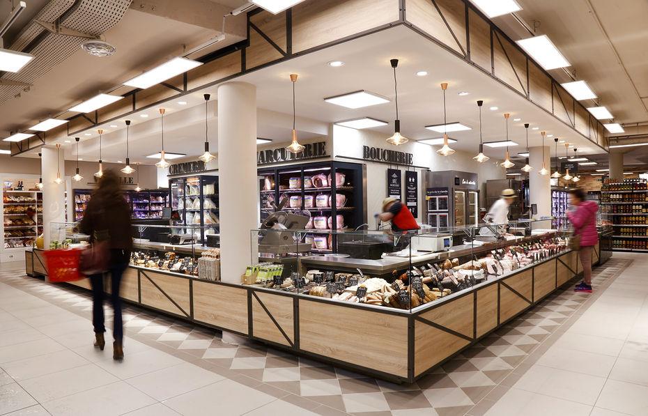 Le nouveau concept premium de Carrefour Market  Produits Frais ~ Carrefour Market Bois Guillaume