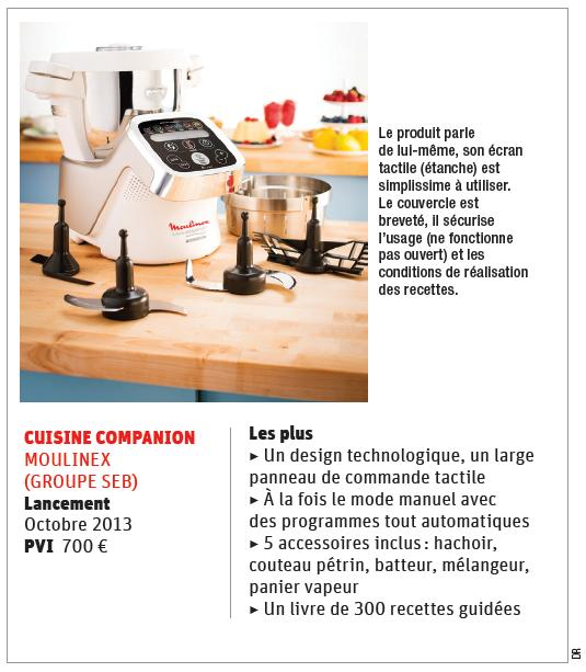 cuisine companion le robot high tech made in dossiers lsa conso. Black Bedroom Furniture Sets. Home Design Ideas