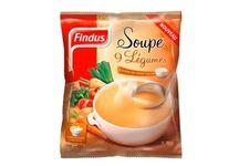 La soupe 9 légumes et pointe de crème fraîche de Findus