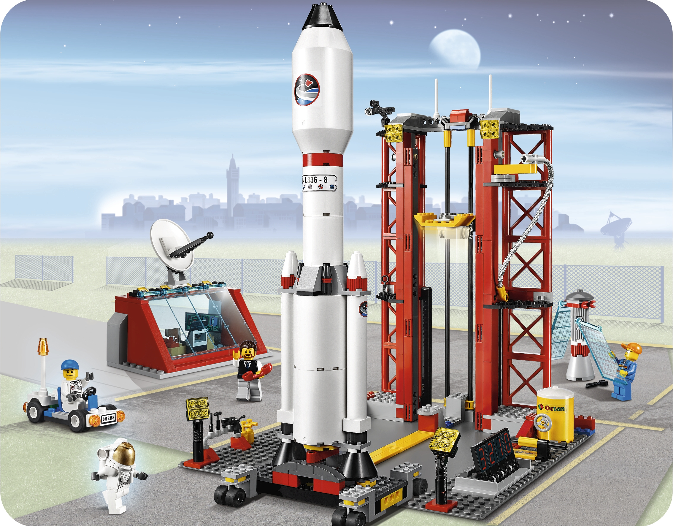 lego city space shuttle launch - photo #18
