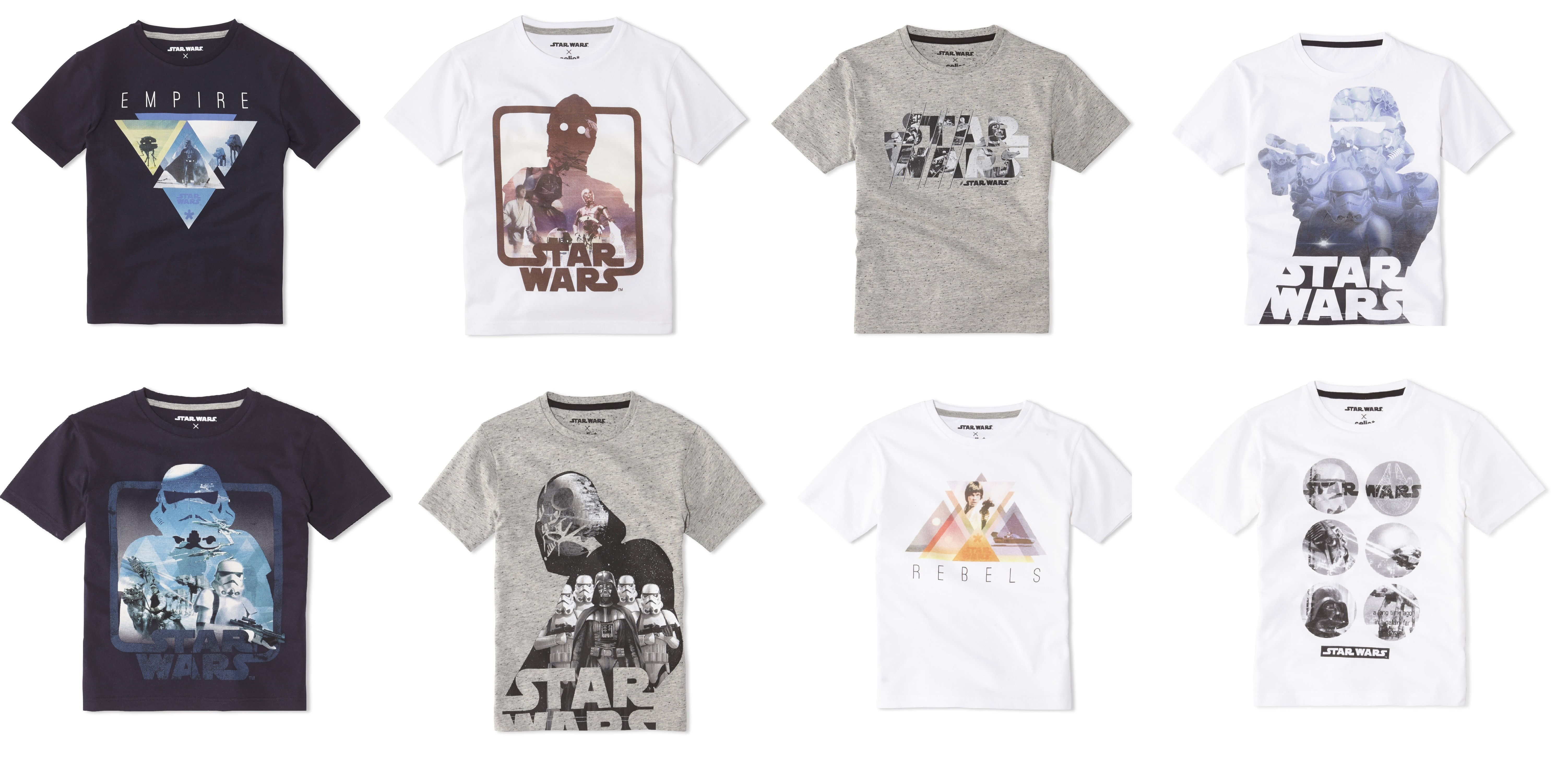 les t shirts star wars p re et fils en dition limit e. Black Bedroom Furniture Sets. Home Design Ideas