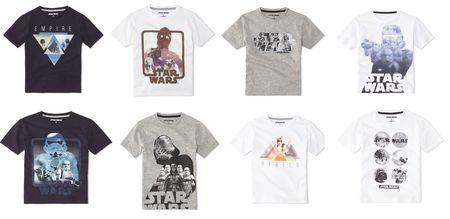 les t shirts star wars p re et fils en dition limit e de celio. Black Bedroom Furniture Sets. Home Design Ideas