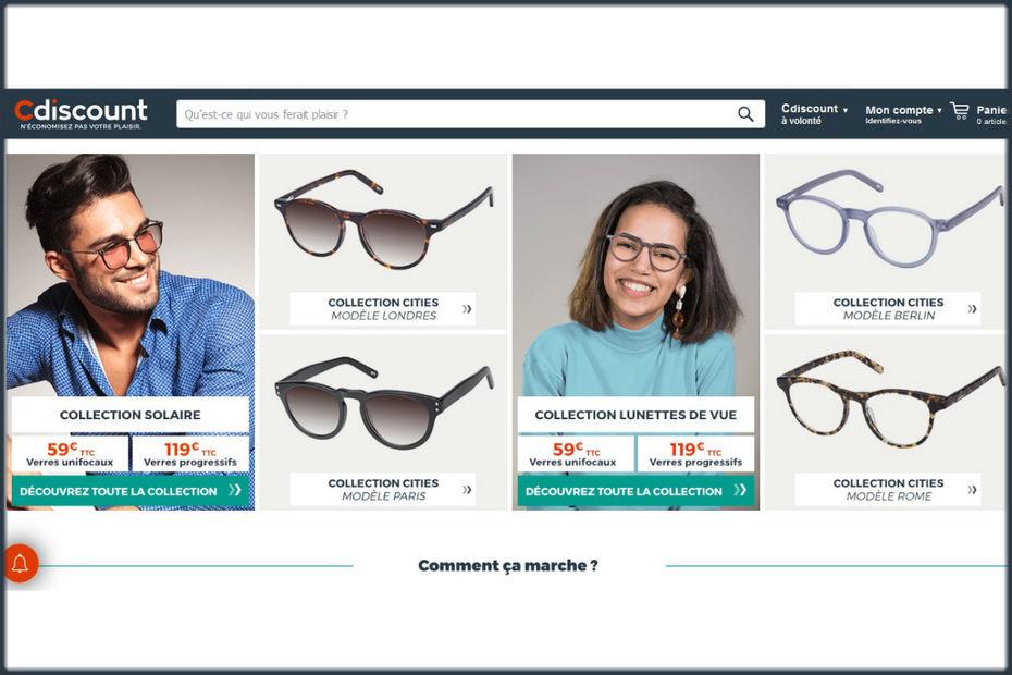 844037687a Emmanuel Grenier, pdg de Cdiscount, est persuadé que les consommateurs sont  prêts à acheter leurs lunettes sur internet.