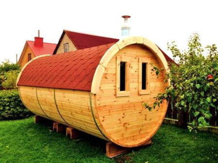 sauna de jardin xl de jardin boh me. Black Bedroom Furniture Sets. Home Design Ideas