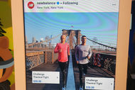 Instragram salesforce new balance