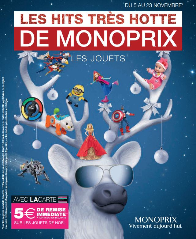 no l 2014 le catalogue de jouets monoprix. Black Bedroom Furniture Sets. Home Design Ideas